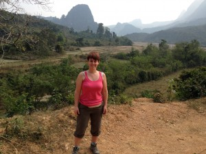 Fiona in Laos
