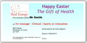 EasterMassageExample