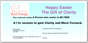 Happy Easter Coaching example